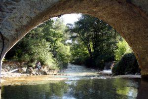 Le Pont bossu, idéale pour la baignade
